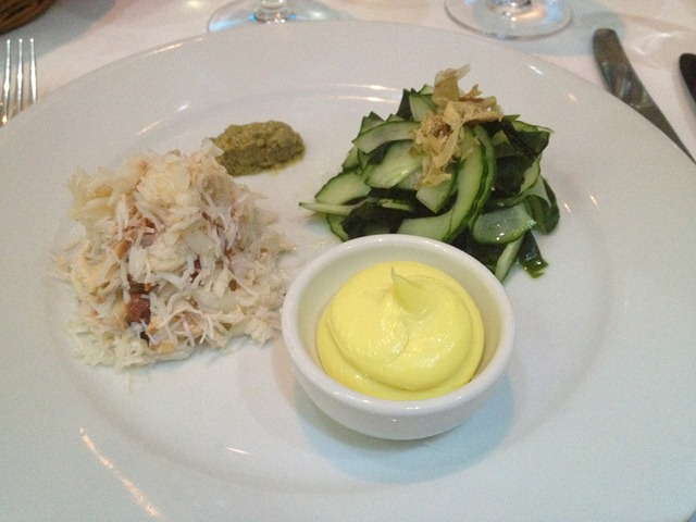 Cornish Crab Starter