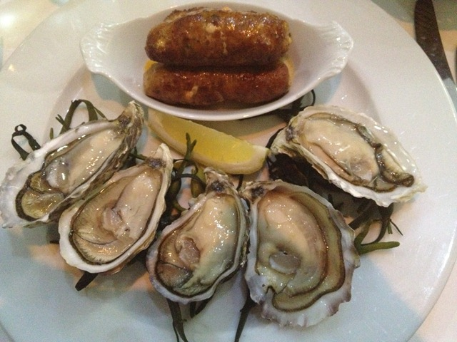 Oysters Charentaise