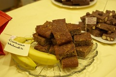 Wilma's Banana and Walnut Squares