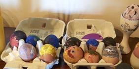 Eggscellent Decorated Eggs! (sorry!)