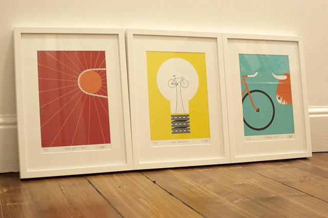 Rebecca J Kaye Bicycle Prints