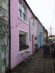Colourful Pretty Houses