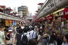 Market At Sensoji Temple - Asakusa