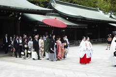 A Japanese Wedding Party