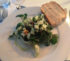 Watercress and Apple Salad