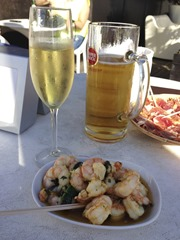 Gambas, Fizz and Superbock!