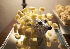 Cheese & Pineapple Hedgehog!