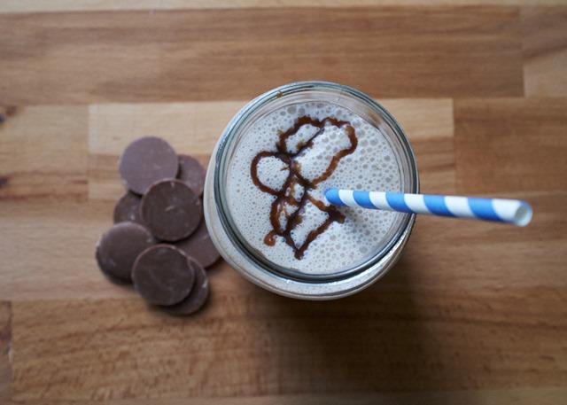 Chocolate Bourbon Milkshake