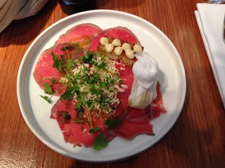Aberdeen Angus Beef Carpaccio