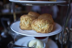 Fresh warm scones