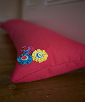 Completed Draught Excluder