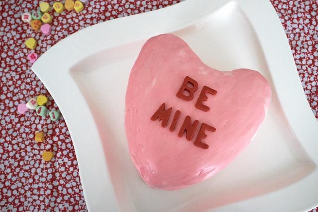 Valentine Pinata Cake