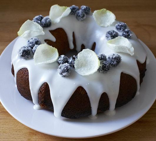 Elderflower Bundt Cake