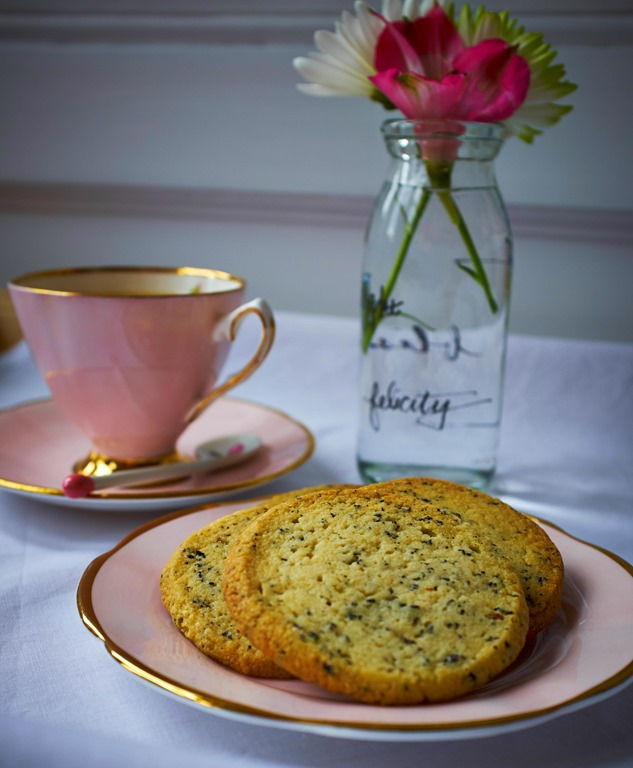 Orange Blossom Oolong Shortbread